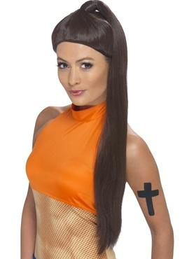 Sporty Spice Girl Wig