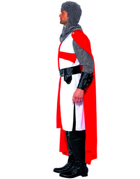 Adult St George Hero Costume - Side View