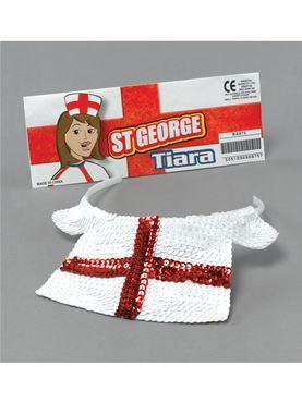 St George Sequin Tiara