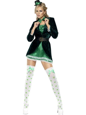 Adult Ladies St. Patricks Day Costume