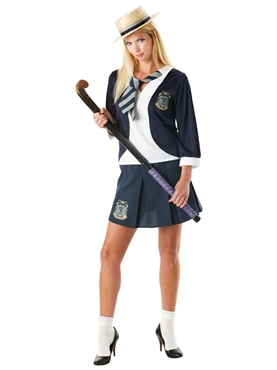 Adult St Trinians Classic School Girl Costume