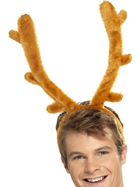 Stag Night Horn On Headband