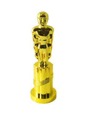 Statue Gold Plastic