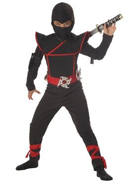 Child Stealth Ninja Costume