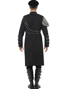 Adult Steam Punk Military Male Costume - Side View
