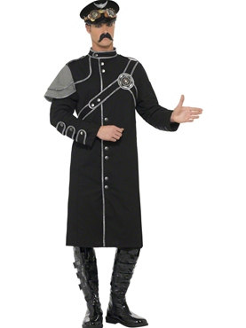 Adult Steam Punk Military Male Costume