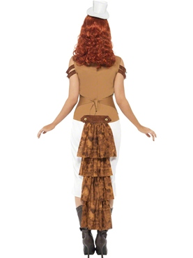 Adult Steam Punk Wild West Costume - Side View
