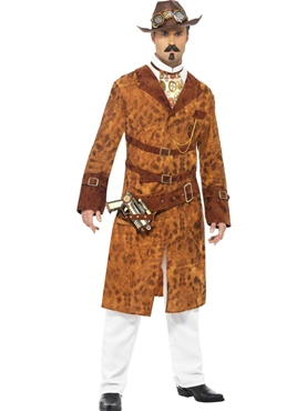 Adult Steam Punk Wild West Costume Thumbnail