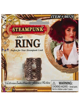 Steampunk Key Hole Ring