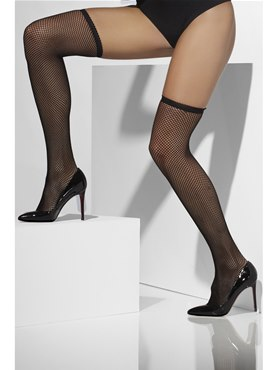 Stockings Black Fishnet