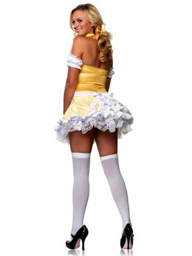 Adult Storybook Goldilocks Costume - Back View