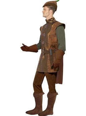 Adult Storybook Robin Hood Costume - Back View