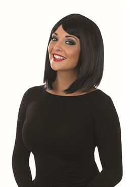 Adult Straight Black Wig