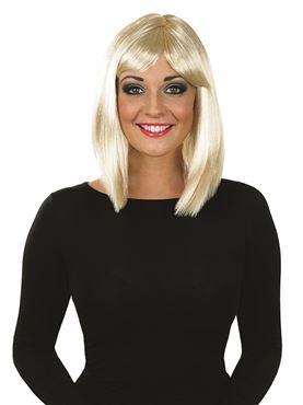 Adult Straight Blonde Wig