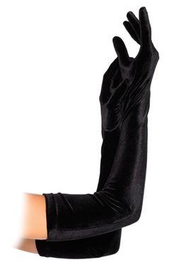 Adult Velvet Opera Length Gloves