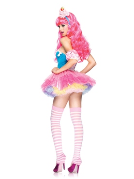 Adult Sugar & Spice Cupcake Costume - Back View