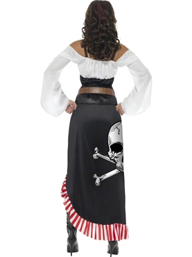 Adult Sultry Swashbuckler Costume - Side View