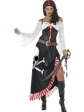Adult Sultry Swashbuckler Costume