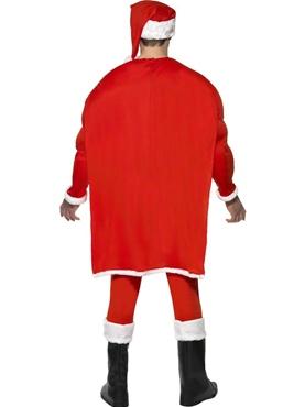 Adult Super Fit Santa Costume - Side View