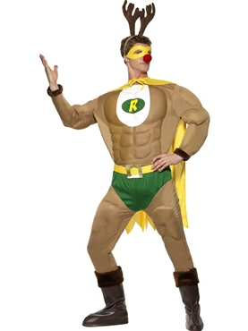 Adult Super Reindeer Costume