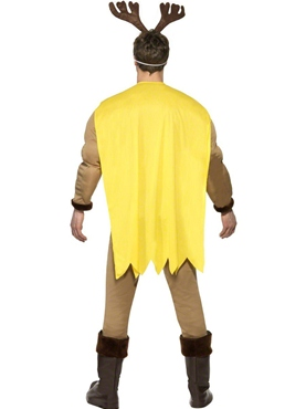 Adult Super Reindeer Costume - Side View