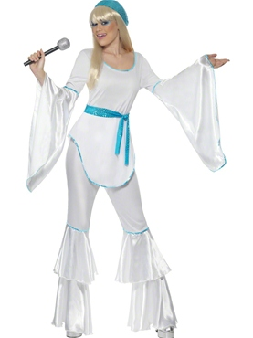 Adult Super Trooper Agnetha Costume