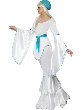 Adult Super Trooper Agnetha Costume - Back View