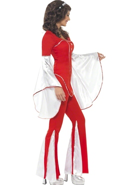Adult Super Trooper Anni Costume - Back View