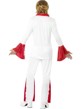 Adult Super Trooper Male Costume - Side View
