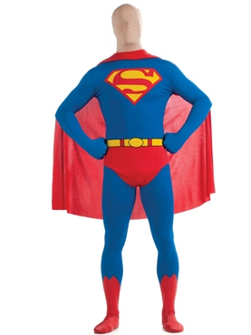 Adult Superman Second Skin Suit