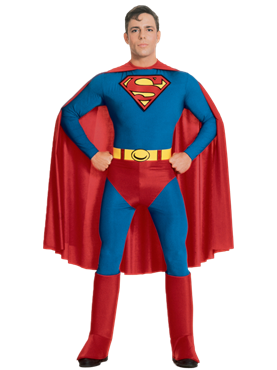 Adult Superman Costume Couples Costume