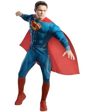 Adult Superman Man of Steel Deluxe Costume