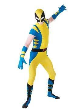 Adult Wolverine Second Skin Suit