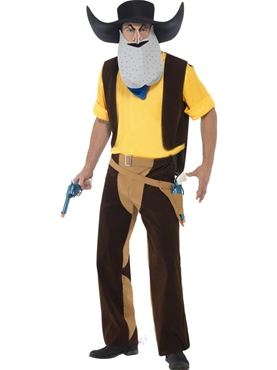 Adult Superted Texas Pete Costume