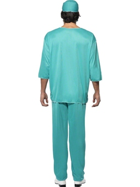 Adult Surgeons Costume - Side View