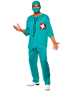 Adult Surgeons Costume Thumbnail