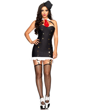 Adult Suzy Silencer Gangster Costume