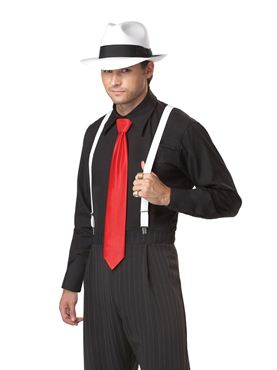 Adult Mob Boss Gangster Costume - Side View
