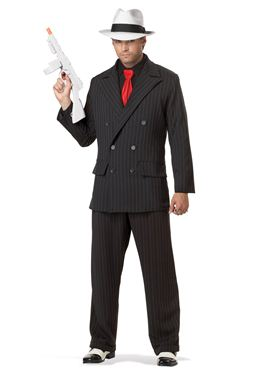 Adult Mob Boss Gangster Costume