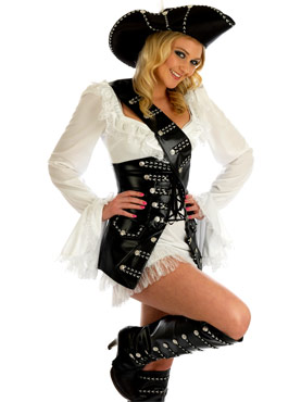 Swashbuckling Babe Pirate Costume