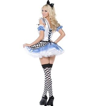 Adult Sweet Alice Costume - Side View