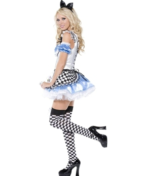 Adult Sweet Alice Costume - Back View