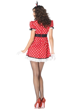 Adult Sweet Miss Mischief Costume - Back View
