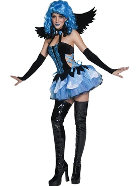 Adult Tainted Garden Stricken Angel Costume