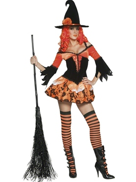 Adult Tainted Garden Wicked Witch Costume