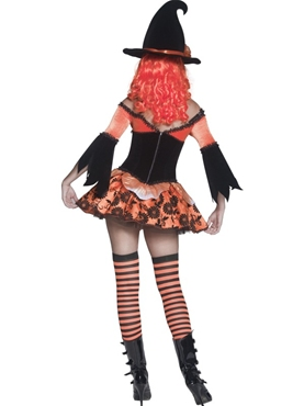 Adult Tainted Garden Wicked Witch Costume - Side View