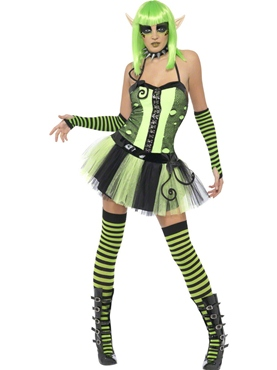 Adult Tainted Garden Wild Ivy Elf Costume