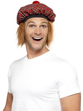 Tam-O-Shanter Hat Tartan Ginger