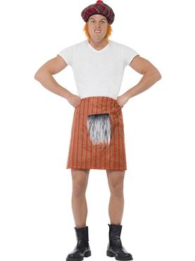 Adult Red Tartan Kilt