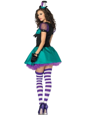 Adult Teacup Mad Hatter Costume - Back View